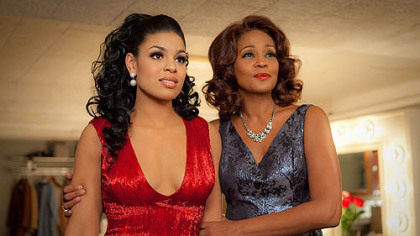 "Jordin Sparks and Whitney Houston in ""Sparkle."""
