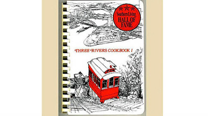 &quot;Three Rivers Cookbook&quot; by Norma Adams Sproull.