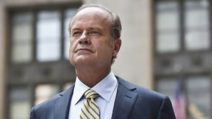 "Kelsey Grammer now stars in the Starz series ""Boss."""