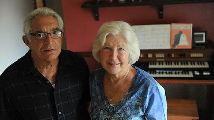 Michael Lapiana, 74, with his wife, Sue. He had a fenestrated endovascular graft, a procedure for repairing abdominal aortic aneurysms.