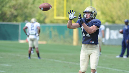 Pitt coach Paul Chryst gave freshman Chris Wuestner a chance to play Division I football with a walk-on spot.