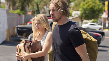 Kristen Bell and Dax Shepard hit the road in &quot;Hit & Run.&quot;