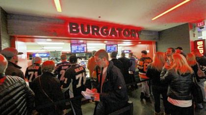 The Burgatory Bar inside Consol Energy Center.