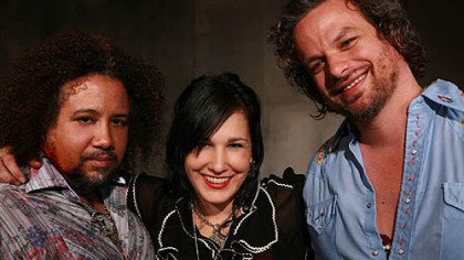 Rusted Root -- with Patrick Norman, left, Liz Berlin and Michael Glabicki -- headlines Sunday's Allegheny County Music Festival at Hartwood Acres. Donations benefit the festival's fund, which gives children and youth items and opportunities not available through traditional govenment funding.