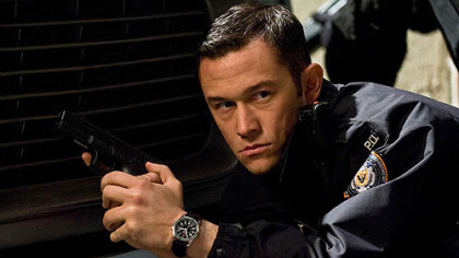 "Joseph Gordon-Levitt as Josh Blake in ""The Dark Knight Rises."""