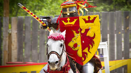 The Joust: Enjoy knights in shining armor.