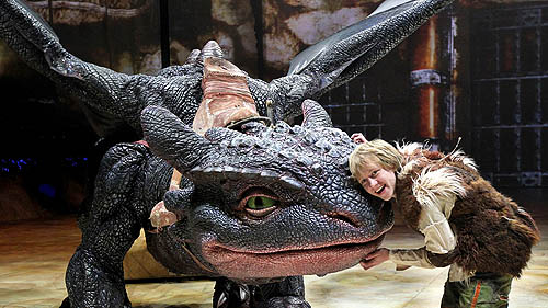 Dragon Toothless In The  How To Train Your Dragon Live Spectacular