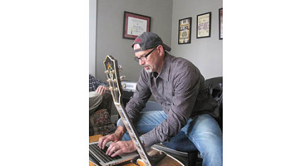 Songwriter Billy Montana turns out more than 100 songs a year. &quot;You can&#039;t wait for inspiration. It&#039;s a job, and I have to work at it every day.&quot;