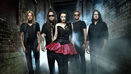 Evanescence, fronted by Amy Lee, is part of the Carnival of Madness Tour, making a stop at Stage AE Tuesday afternoon.