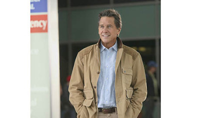 "Tim Matheson as Dr. Brick Breeland in ""Hart of Dixie."""