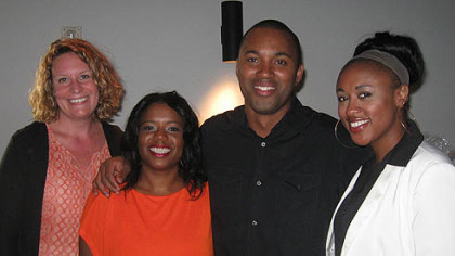 Kathy Risko, Kezia O.L. Taylor, Demetrius Ivory and Tamara Torbert.