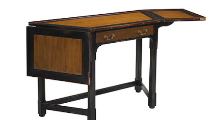 French Heritage's slanted corner desk.