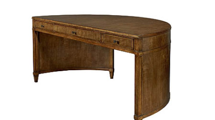 Sonia Demi-Lune Desk from Hickory Chair.