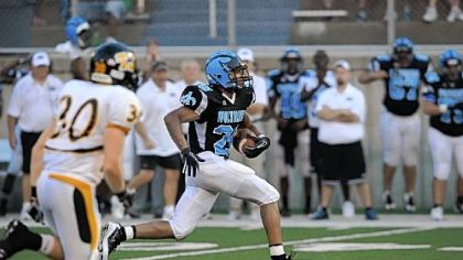Woodland Hills' Harry Randall returns as a starting defensive back and kick/punt return man for the Wolverines.