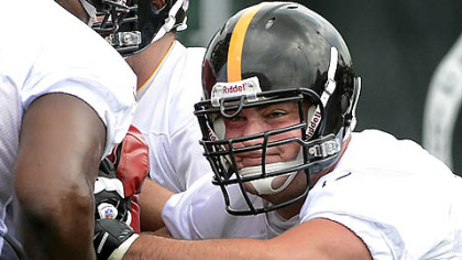 Offensive guard David DeCastro, working out during minicamp before being hurt, is the latest in a line of injured players who will impact the decisions made by tomorrow on the 53-man roster. The Steelers play host to the Carolina Panthers at 7 tonight.