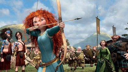 "A scene from the movie ""Brave""."