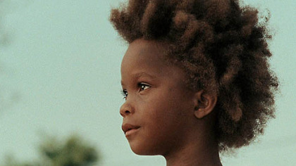 "Quvenzhane Wallis as ""Hushpuppy"" ""Beasts of the Southern Wild"""