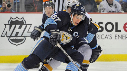 Sidney Crosby won't rule out playing in Europe if the NHL lockout takes hold.