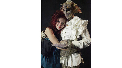 Alana Rose Schiro, a graduate of the Tom Savini Special Make-up Effects program at the Douglas Education Center in Monessen, had to incorporate crabs into a pirate-themed creature during this week&#039;s episode of &quot;Face Off.&quot;