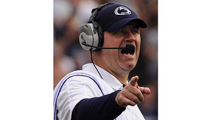 Bill O'Brien's every move was watched Saturday as he became the first coach other than Joe Paterno to coach a Penn State season opener since 1965.