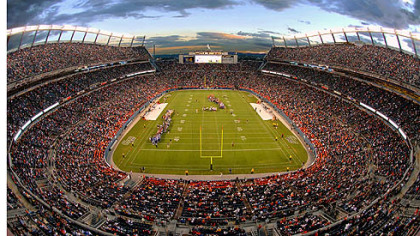 The Sports Authority Field at Mile High.