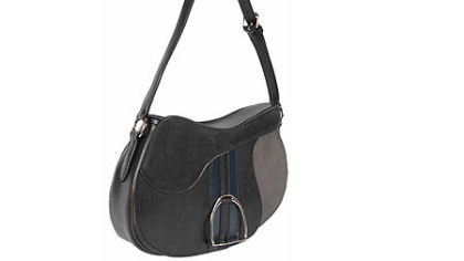Rebecca Ray Lizzie's Saddle Bag is handcrafted in Ohio with superior grade saddle leather, ballistic nylon and nickel stirrup for $750. Go to www.rebeccaraydesign.com.