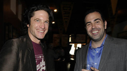 Actors David Conrad and Patrick Jordan.