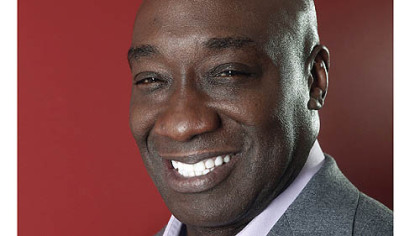 This Wednesday, Jan. 11, 2012, photo shows actor Michael Clarke Duncan in New York. Duncan has died at the age of 54 on Monday, Sept. 3, 2012 in a Los Angeles hospital after nearly two months of treatment following a July 13, 2012 heart attack.