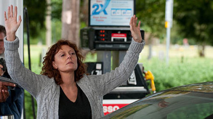 "Susan Sarandon in ""The Company You Keep,"" a movie in which Jackie Evancho also has a role."
