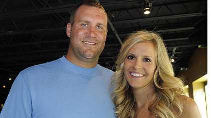 Ben and wife Ashley Roethlisberger.