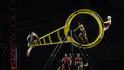 The incredible feats of STREB: FORCES will be on display at the Byham Theater Sept. 28-29.