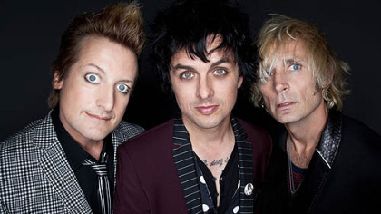 Green Day -- Tre Cool, left, Billie Joe Armstrong and Mike Dirnt -- is set to release three albums in the next few months.
