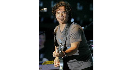 John Oates on the guitar at Stage AE.
