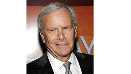 Tom Brokaw -- Became lightheaded at Democratic National Convention.