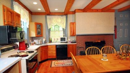Kitchen of the historic Thomas Wilson Shaw house in Shaler.