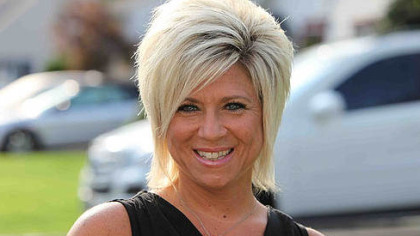 "Theresa Caputo of the TLC television show ""Long Island Medium."""