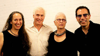 Hilary Robinson, Michael White, Barbara Luderowski and Michael Olijnyk.