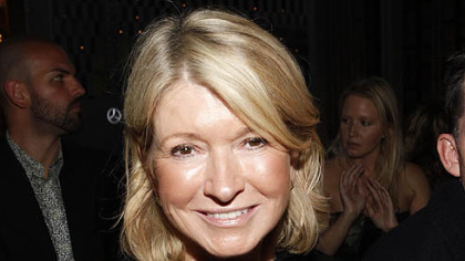 Martha Stewart is seen at the Zac Posen Spring 2013 Runway Show.