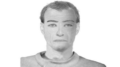 The Pittsburgh police sketch of bicyclist Colin Albright's attacker