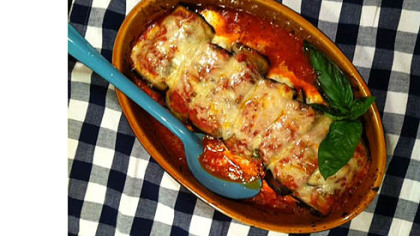 Eggplant Involtini.
