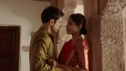 "Riz Ahmed and Freida Pinto in ""Trishna."""