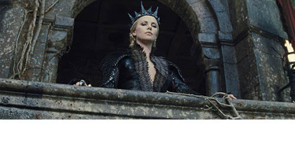 "Charlize Theron is one evil queen in ""Snow White the Huntsman."""