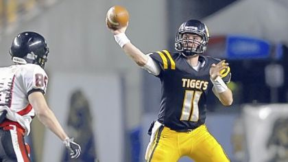 North Allegheny's Mack Leftwich (301 ypg) leads the WPIAL in passing.