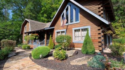 This log home in Center is on the market for $339,000.