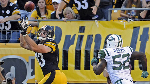 Steelers beat Jets, 27-10, in home opener