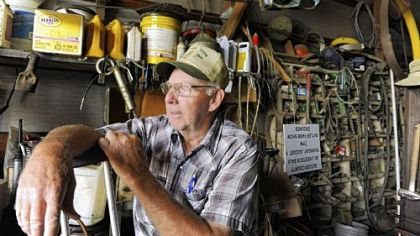 Harold Foertsch, a Butler County family farmer, expects this year&#039;s harvest to turn a profit in spite of the drought affecting much of the country.
