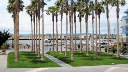 "Jack London Square, named for the author of ""The Sea Wolf"" and ""The Call of the Wild,"" is like a miniature Fisherman's Wharf."