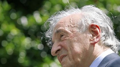 "Author and Nobel Peace Prize laureate Elie Wiesel -- ""All the time I worry I have not done enough."""