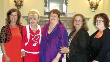 Anne Mageras, Sandra Bettor, Zoe Koplowitz, Joan Campasano Hoover and Nancy Weiland.