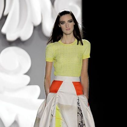 The Carolina Herrera Spring 2013 collection.